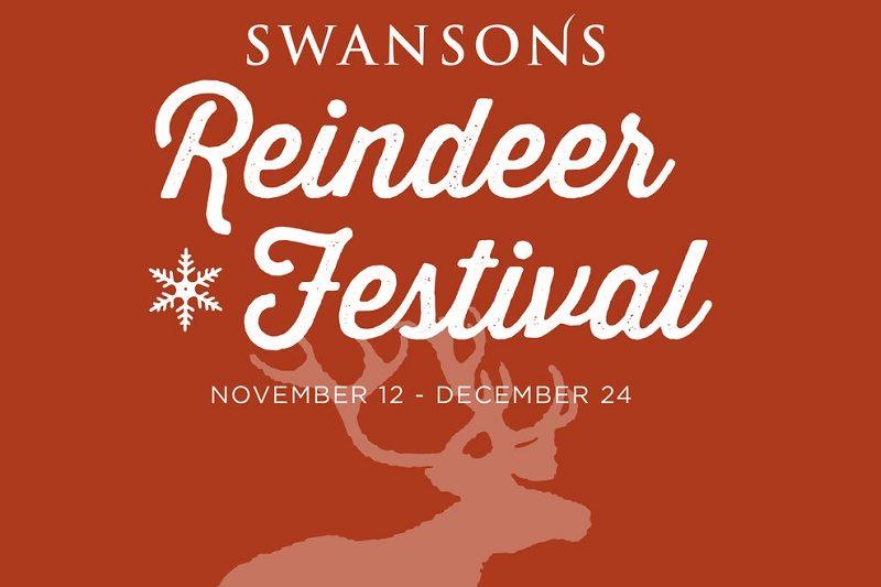 Swansons Nursery Reindeer Festival