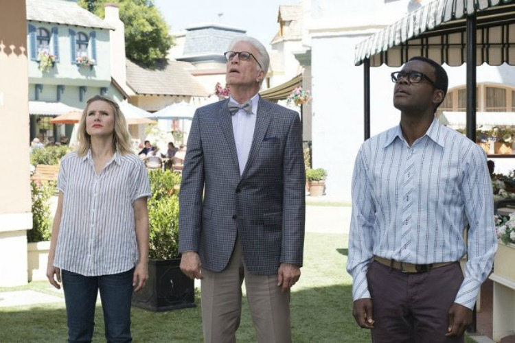 Watch while high The Good Place character image
