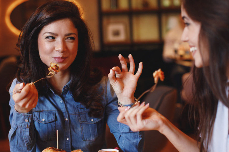 restaurants in Maywood, CA Women Eating