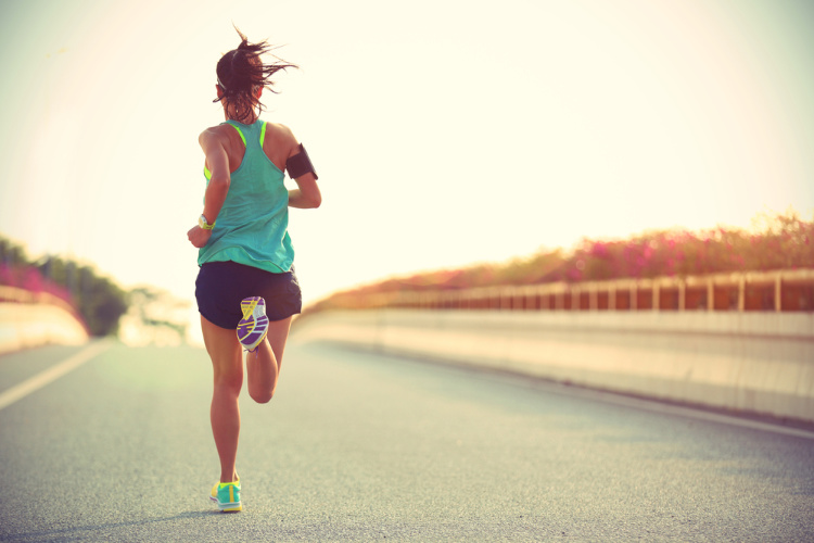 Know About CBD - woman running