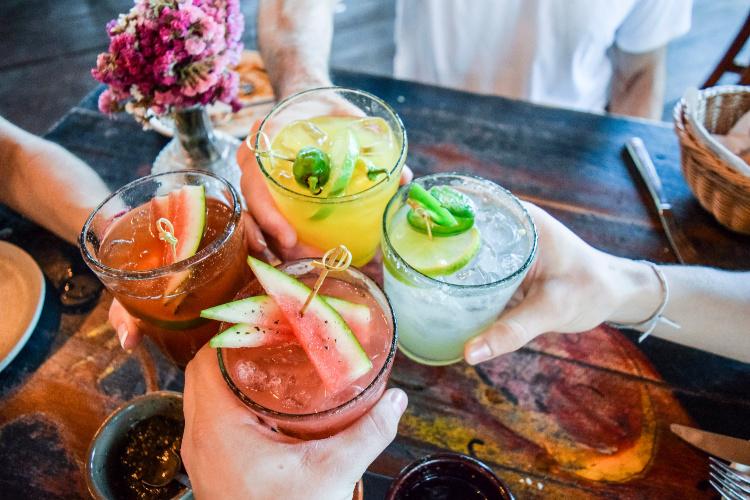 cannabis cocktails four drinks