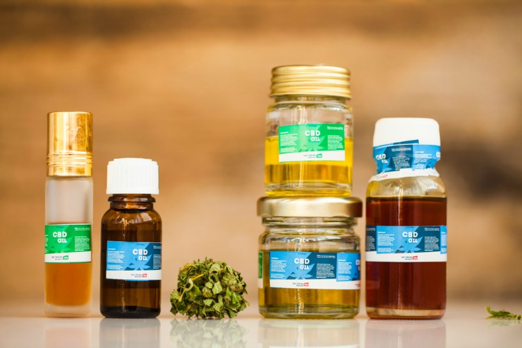 Does CBD Oil Get You High oils stacked