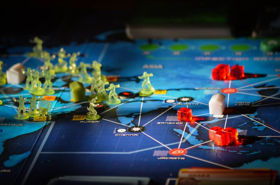 Games to play while high Pandemic Legacy