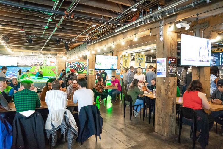 belltown bars Flatstick Pub