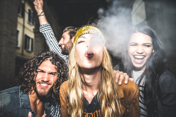 social strains friends