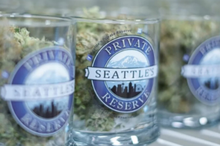 fruity cannabis strains Banana Punch by Seattle's Private Reserve