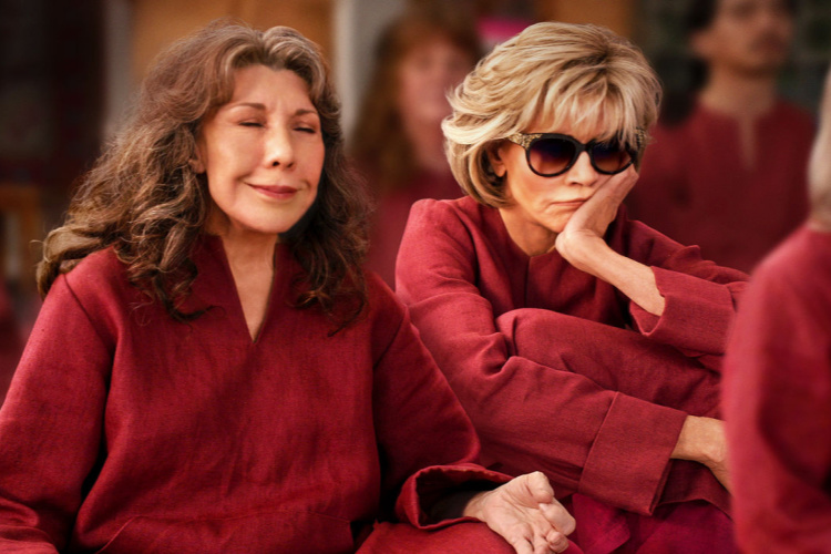 show to watch while high Grace and Frankie