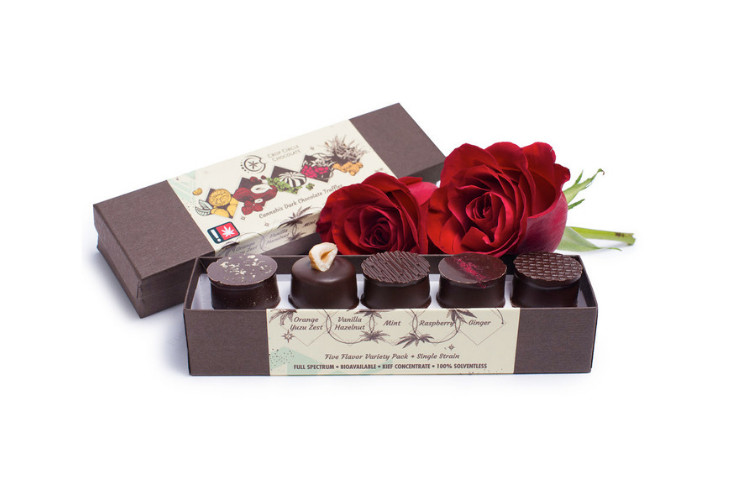 Best Summer Edibles Crop Circle Chocolates: Five-Flavor Variety Pack