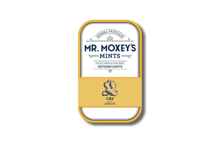 Best Summer Edibles Moxey: Ginger CBD Mints