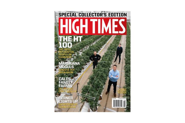 Cannabis Magazines High Times