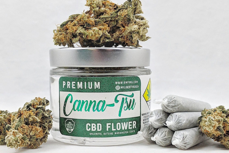 CBD Flower CBD Canna-Tsu by Liberty Reach