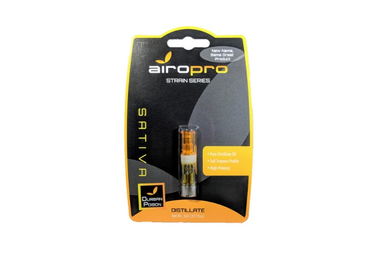 Cannabis Cartridges AiroPro Cartridge: Durban Poison 1g