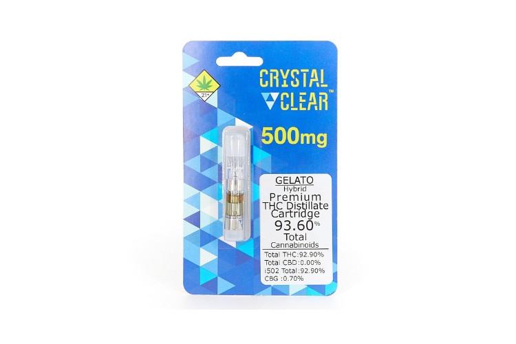 Cannabis Cartridges Crystal Clear: Jack Herer Distillate 1g