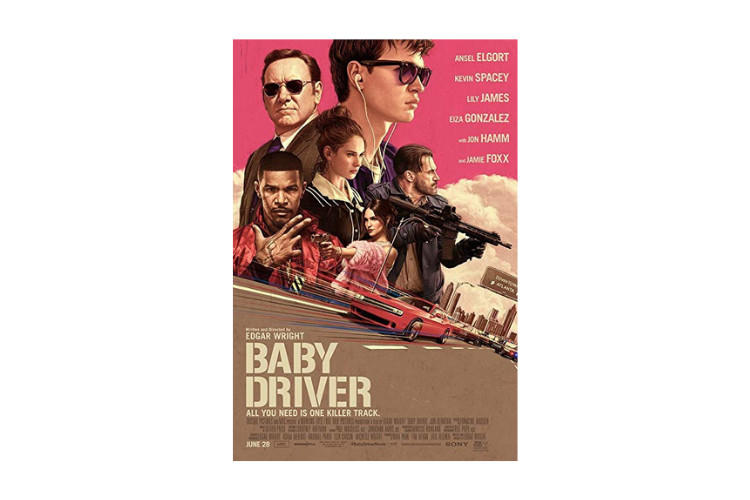 action movies while high Baby Driver