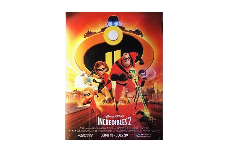 action movies while high Incredibles 2