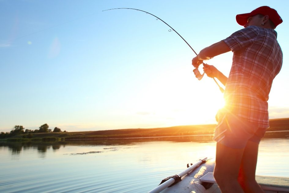 fishing in ocean shores